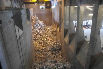 Avfallsbunker fjernvarme heimdal