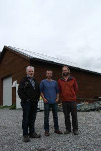 Fra venstre: Erik Moen, Ingvar Kvande og Joshua Fenton Cabell Foto:UngEnergi