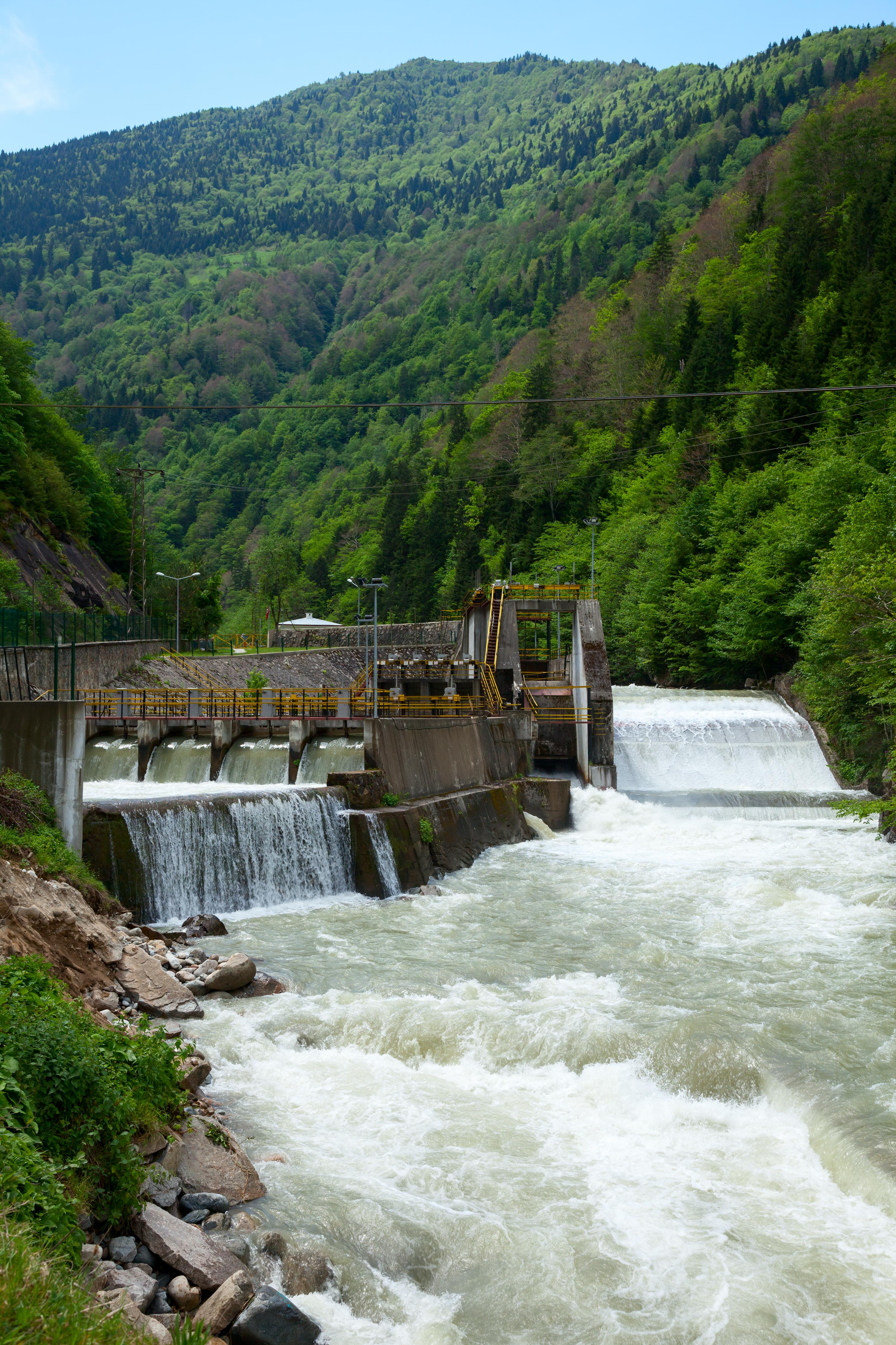 Lite vannkraftverk i Tyrkia