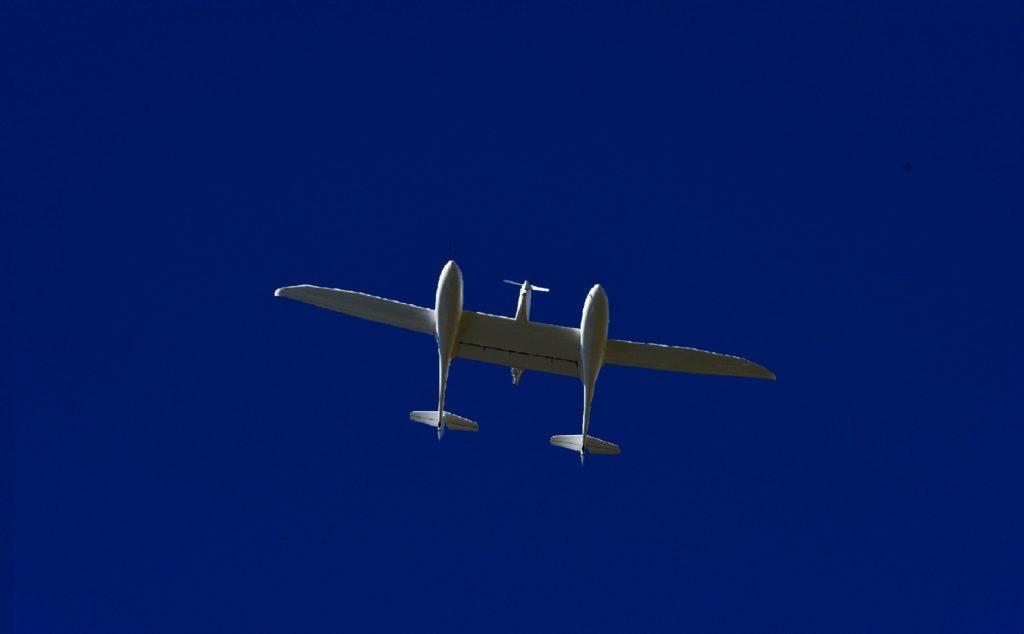 Hydrogenflyet HY4 svever i det uendelige blå. Vil hydrogenfly være en naturlig del av framtidens flyfart?