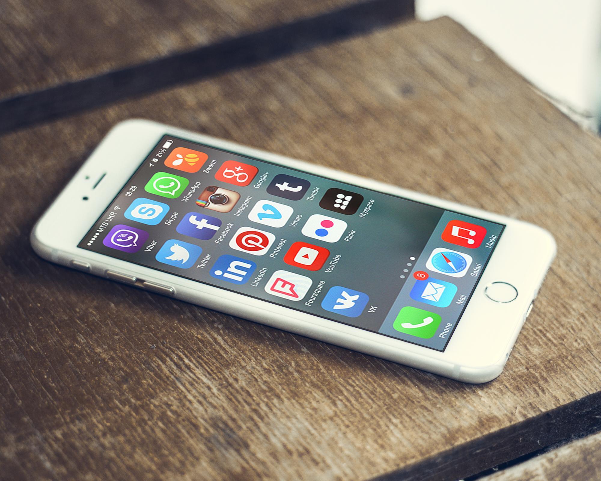 Dagens smarttelefoner blir mer og mer komplekse og koster derfor mer energi å produsere. Foto: vpnsrus.com