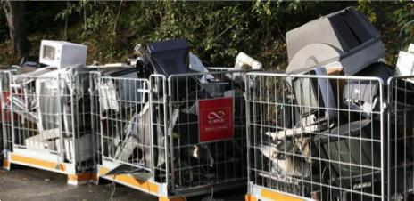 Elektronikk sorteres som farlig avfall. Foto: Anne Sofie Gjestrum, Miljødirektoratet