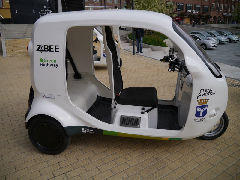 ZBee - hverken bil eller scooter! Foto: Green Highway