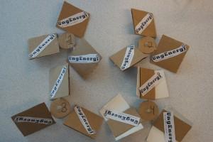 Inspirasjon: Dette er de forskjellige turbinene UngEnergi lagde.