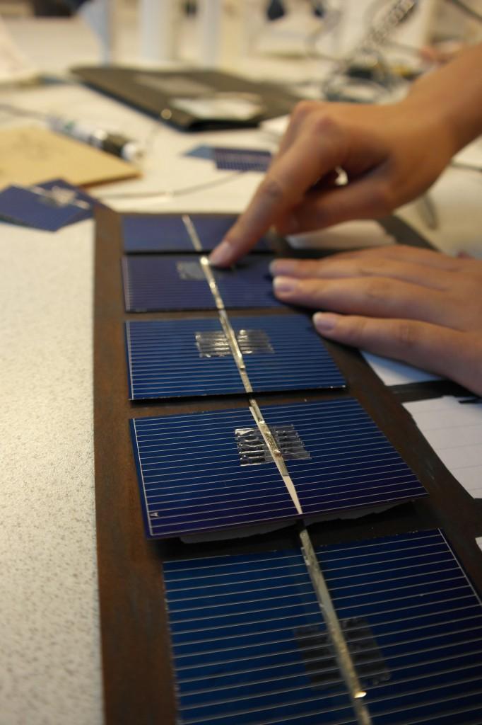 Kobling av solceller