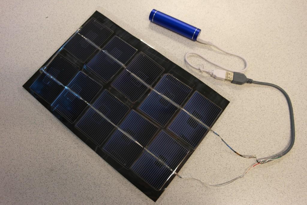 Solcellelader