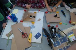 bygge solcellebil